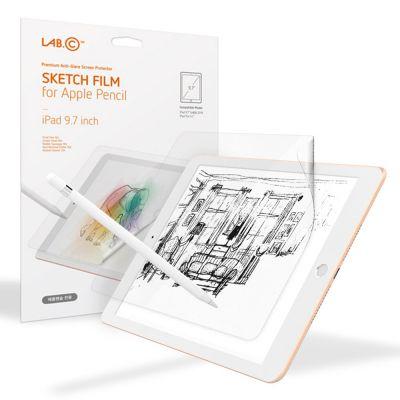 """ฟิล์ม LAB.C iPad 9.7""""(2018) Sketch Film : Clear"""