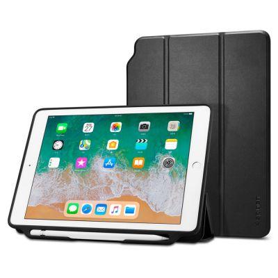 """เคส SPIGEN iPad 9.7""""(2018) Smart Fold 2 (Pencil Holder)"""