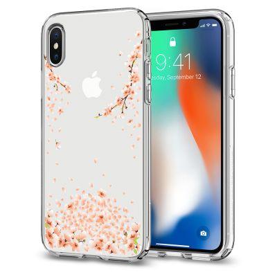 เคส SPIGEN iPhone X Liquid Crystal Blossom