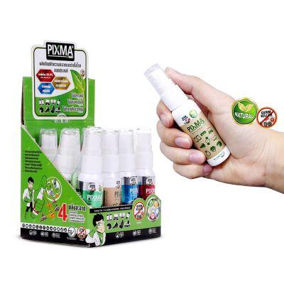 Pixma Kreen Germ Killer 25ml Box Set (สเปรย์ทำความสะอาดและฆ่าเชื้อโรคอเนกประสงค์ 25 มิลลิลิตร ยกกล่อง 12 ขวด)