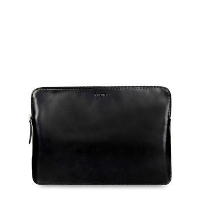กระเป๋า KNOMO SOHO, 13, Laptop Leather Zip Sleeve