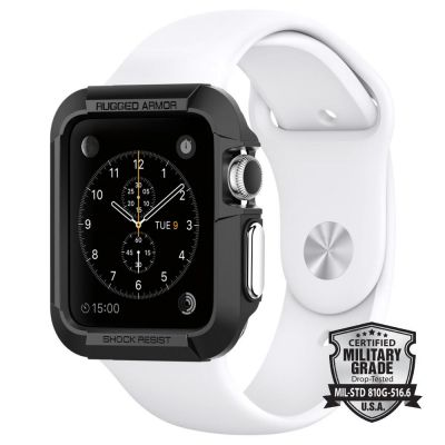 เคส SPIGEN Apple Watch 3/2/1 (42mm.) Rugged Armor