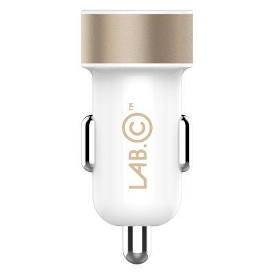 ที่ชาร์จในรถยนต์ LAB.C Dual USB Car Charger A.L [3.4A]