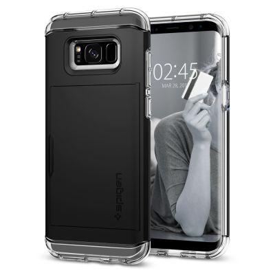 เคส SPIGEN Galaxy S8+ Crystal Wallet