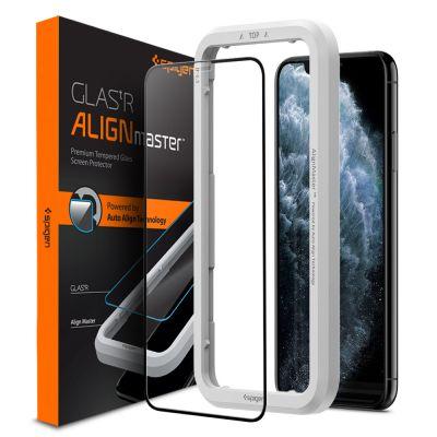 ฟิล์มกระจก SPIGEN iPhone 11 Pro/XS/X Tempered Glass Align Master FC
