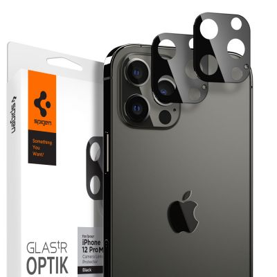 ฟิล์ม SPIGEN iPhone 12 Pro Max Tempered Glass : Glas.tR Optik (Lens)