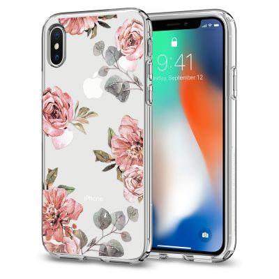 เคส SPIGEN iPhone X Liquid Crystal Aquarelle