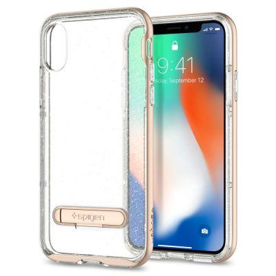 เคส SPIGEN iPhone X Crystal Hybrid Glitter