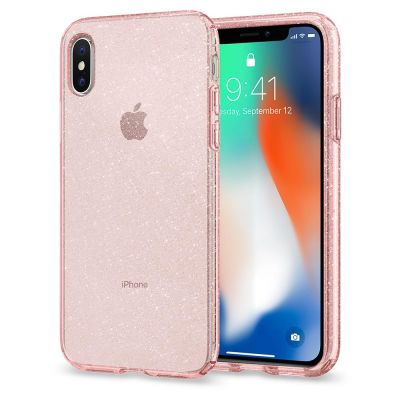 เคส SPIGEN iPhone X Liquid Crystal Glitter