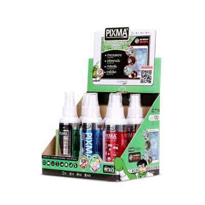 Pixma Kreen Germ Killer 100ml Box Set (สเปรย์ทำความสะอาดและฆ่าเชื้อโรคอเนกประสงค์ 100 มิลลิลิตร ยกกล่อง 6 ขวด)